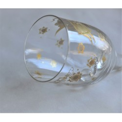 Gold Angel Rosenthal Crystal Table Bell