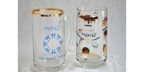 Chopes Expo 67 de l'exposition Terre des Hommes de Montréal