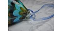 Grosse boule artisanale en verre