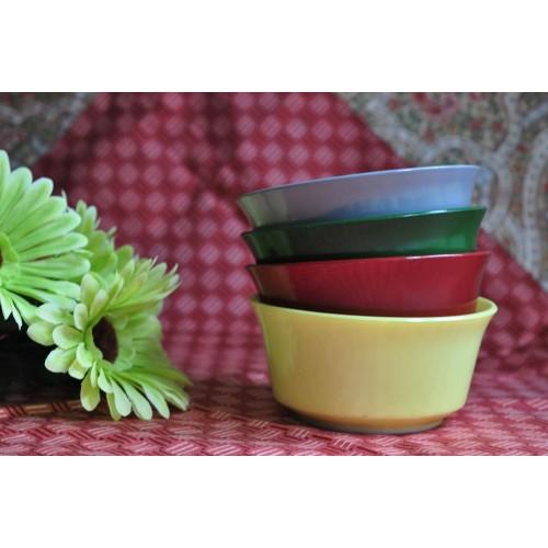 Hazel Atlas Platonite Ovide Bowl Set