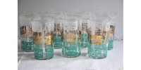 Vintage Set of Dominion Glass Tumblers