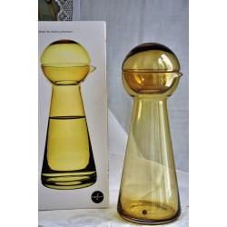 Sagaform Swedish Design Small Amber Carafe