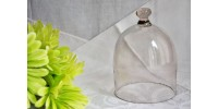 Petit dôme de verre soufflé bouche