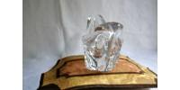 Coupe en cristal rétro signé Daum France