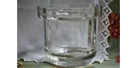 Seau à glace en cristal signé Wedgwood